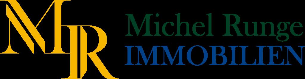 Michel Runge Immobilienmakler Logo und Schriftzug 2